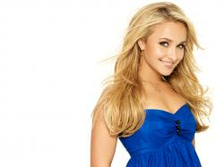 Download Wallpaper blondes women actress hayden panettiere celebrity simple background white background -97173-4