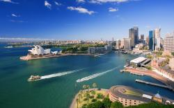 Downtown Sydney Australia