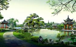 Chinese Garden Wallpapers Hd Annies 1920x1200px
