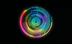 Circle Art Wallpaper · Circle Wallpaper ...