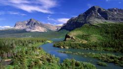 HD Nature Panorama Wallpaper 23585 3840x1200 px