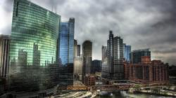 HDR City Wallpaper
