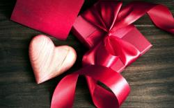 Heart Gift Ribbon Bow Box Love