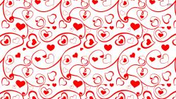 Heart and swirl pattern wallpaper 1920x1080