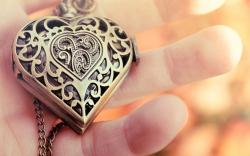 Heart Pendant Jewelry Close-Up