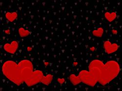 Red Heart Wallpaper Images Amp Pictures Becuo and Black
