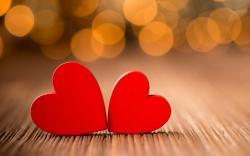 Hearts Red Love Macro Lights