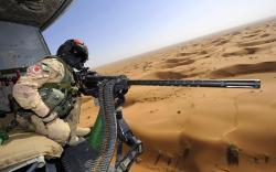 Helicopter m3m heavy machine gun