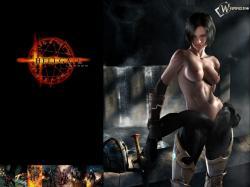 Favourite Anime Girl Horror Game Hellgate London Games Wallpaper