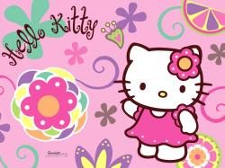 Hello Kitty Wallpapers, Pink Flower, Color, Fun Stuff, Google Search, Hello Kitty Images, Flower Children, Desktop Wallpapers, Hello Summer