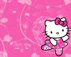Hello Kitty Dream Desktop Wallpaper