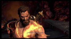 God of War 3 - Deimos murders Hephaestus (HD 720p)