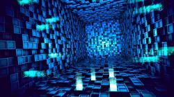 3D High Tech Wallpaper 3440