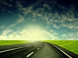 blacktop highway wallpaper