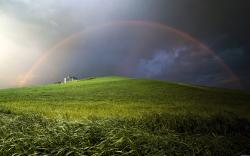 Hill Rainbow Wallpapers Pictures Photos Images. «