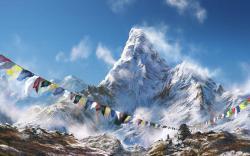 Himalaya drawing