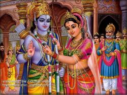 Download Free Wallpapers Backgrounds - Virtues Hindu Women Sita Avat Lakshmi Gods
