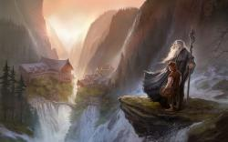 Hobbit gandalf art