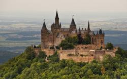 Hohenzollern castle hd wallpaper