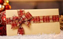Holiday Envelope Bow Ribbon Christmas Winter New Year