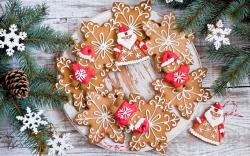 Cookies Pastries Dessert Snowflakes Holiday Christmas