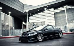 Honda Civic Wheels Tuning Car