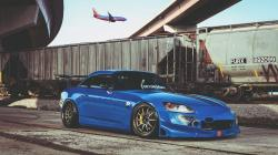 Honda S2000 Car Train Airplane