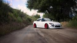 Honda S2000 Wheels Red Road