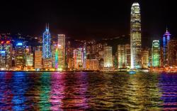 Hong kong colorfulness