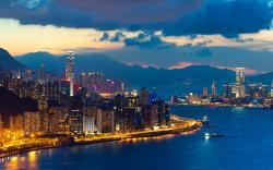 Hong kong evening