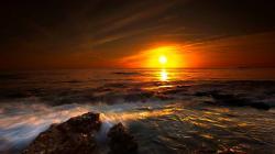 Golden Horizon HD wallpapers