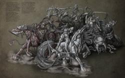 Four Horsemen Of Apocalypse Bigtaki Wallpaper #110694 - Resolution 1680x1050 px