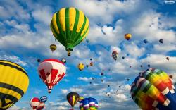 Hot Air Balloon 2 Wallpaper HD