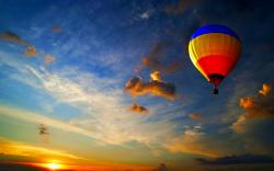 Beautiful Hot Air Balloon Wallpaper
