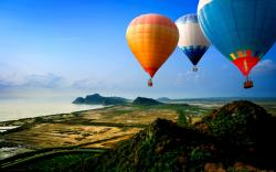 Hot Air Balloon Wallpaper HD