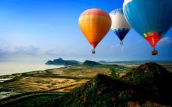 Hot Air Balloon Wallpaper HD