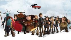 How to train your dragon 2 Characters Vikings 1366×768