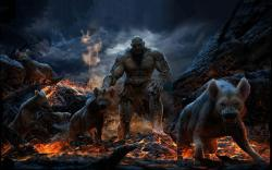 Hyena lord underworld