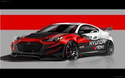 Hyundai genesis track edition