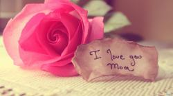 Mother's Day I Love You Mom Wallpaper