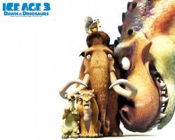 ... dinosaurs Ice Age 3!