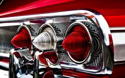 Impala Rear Lights Wallpaper