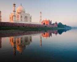 Nature Monuments Taj Mahal India Landscape City Most Wallpapers For Mobile
