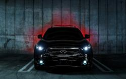 Infiniti FX35 S Vossen Lights