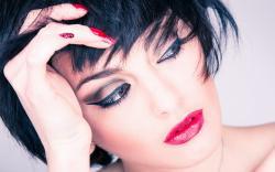 Inria Zurk Girl Brunette Portrait