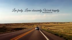 Free Inspirational Wallpaper: The Open Road