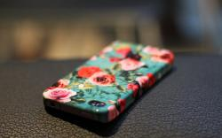 iPhone Cover Flowers Roses