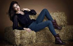 Irina Shayk Sheik Lovely Model Girl Fashion