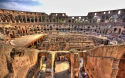 Breathtaking Colosseum Rome Italy Wide Wallpaper 1152x720px