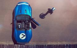 Jaguar Project 7 Car Pilot Driver